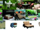 Lauko baldų čiužiniai, pagalvėlės - nuotraukos Nr. 2
