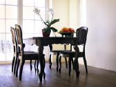 Valgomojo stalas su 6 kėdėmis - nuotraukos Nr. 3