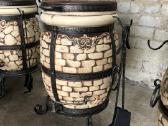 Tandyras - keramikinė krosnis - kepsninė - nuotraukos Nr. 2