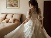 Individualiai kurta Nuotakos suknelė - nuotraukos Nr. 3