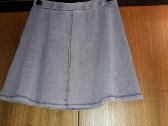 Platėjantis mėlynas sijonas - nuotraukos Nr. 2