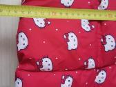 Raudona žieminė striukė