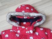 Raudona žieminė striukė - nuotraukos Nr. 2