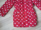 Raudona žieminė striukė - nuotraukos Nr. 3
