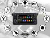 Bmw 3 E46 1998-06 Android8 multimedia Usb/GPS/WiFi - nuotraukos Nr. 2