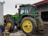 John Deere traktorių dalys naujos naudotos