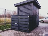 Šiukšlių konteinerių stoginė, konteinerine. - nuotraukos Nr. 3