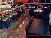 Skubiai parduodami mažai naudoti restorano baldai - nuotraukos Nr. 4
