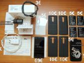 LG V10 su daug priedų