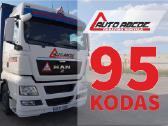 95 kodas Kaune