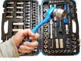 Nauji įrankiai - galvučių komplektai Vokietija - nuotraukos Nr. 2