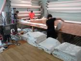Įtempiamų lubų gamyba