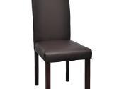 Vidaxl Dvi Valgomojo Kėdės, Ruda Oda 60587 - nuotraukos Nr. 4