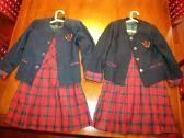 """""""Genio"""" pradinės mokyklos mergaitės uniforma"""