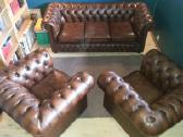 Chesterfield nauji odiniai baldai - nuotraukos Nr. 4