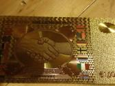 Parduodu auksini banknotą 1000000 euru kaina 10 eu - nuotraukos Nr. 2