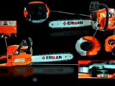 Motorinis benzininis pjūklas Erman 5201 - nuotraukos Nr. 2