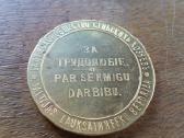 Parduodu medali kaina 8 euru. - nuotraukos Nr. 2