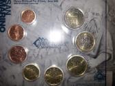 San Marino 2012 m. euro monetų rinkinys.