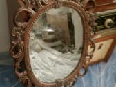 Antikvarinis vintazinis senovinis veidrodis - nuotraukos Nr. 3