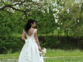 Romantisko stiliaus vestuvine suknele - nuotraukos Nr. 2