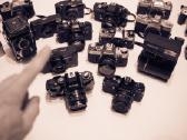 Nikon ,Canon, Olympus ,Minolta ir kt