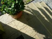 Lauko laiptai, lieti, dekoratyviniai