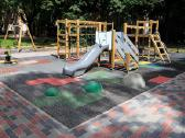 Vaikų žaidimų aikštelių danga - nuotraukos Nr. 3