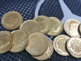 Rusų auksiniu monetų kopijų kaina 5 eurai - nuotraukos Nr. 3