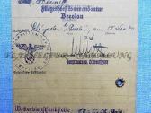 Vokiškas pažymėjimas: - nuotraukos Nr. 2