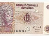 Kongo Dr banknotai - nuotraukos Nr. 3