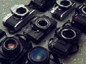 Daugubė juostinių fotoaparatų+ optika - nuotraukos Nr. 2