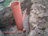 Lietaus kanalizacija,drenazas irengimas,bobcat - nuotraukos Nr. 4