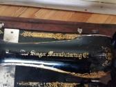 Antikvarinė rankinė siuvimo mašina Singer - nuotraukos Nr. 3