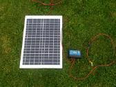 Saulės elektrinė 20w + saulės krovimo valdiklis - nuotraukos Nr. 3