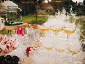 Šampano taurių piramidės ir sauso ledo efektų šou - nuotraukos Nr. 2