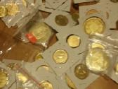 Rusų auksiniu monetų kopijų kaina 5 eurai - nuotraukos Nr. 2