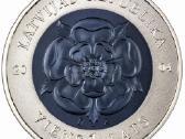 Latvijos latu proginiu monetu pilna kolekcija - nuotraukos Nr. 2