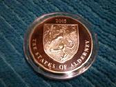 Alderney 2005 m. 5 pounds sidabras - nuotraukos Nr. 2