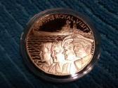St. Helena 2002 m. 50 pence sidabras
