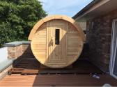 Apvali Lauko pirtis bačka, sauna-kubilas - nuotraukos Nr. 2