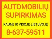Automobilių supirkimas Kaune 24h/7d