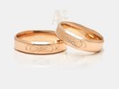 Vestuviniai žiedai, Sužadėtuvių žiedai, Juvelyras - nuotraukos Nr. 6
