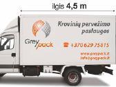 Kraustymo paslaugos, krovinių iki 3 t pervežimas - nuotraukos Nr. 2