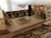 Rankų darbo vienetinis laivo modelis - nuotraukos Nr. 2