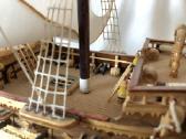 Rankų darbo vienetinis laivo modelis - nuotraukos Nr. 3
