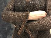 Rankų darbo šokolado spalvos S-m dydziui - nuotraukos Nr. 4