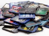 Atminties korteles nuo 2 eur