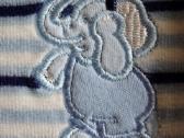 Dryžuotas šliaužtukas su drambliuku 68 dydis - nuotraukos Nr. 4