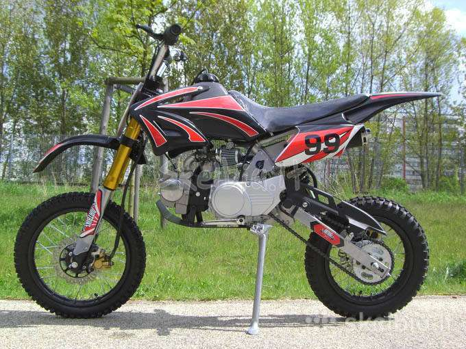 Atv cross bike 125cc - Skelbiu.lt